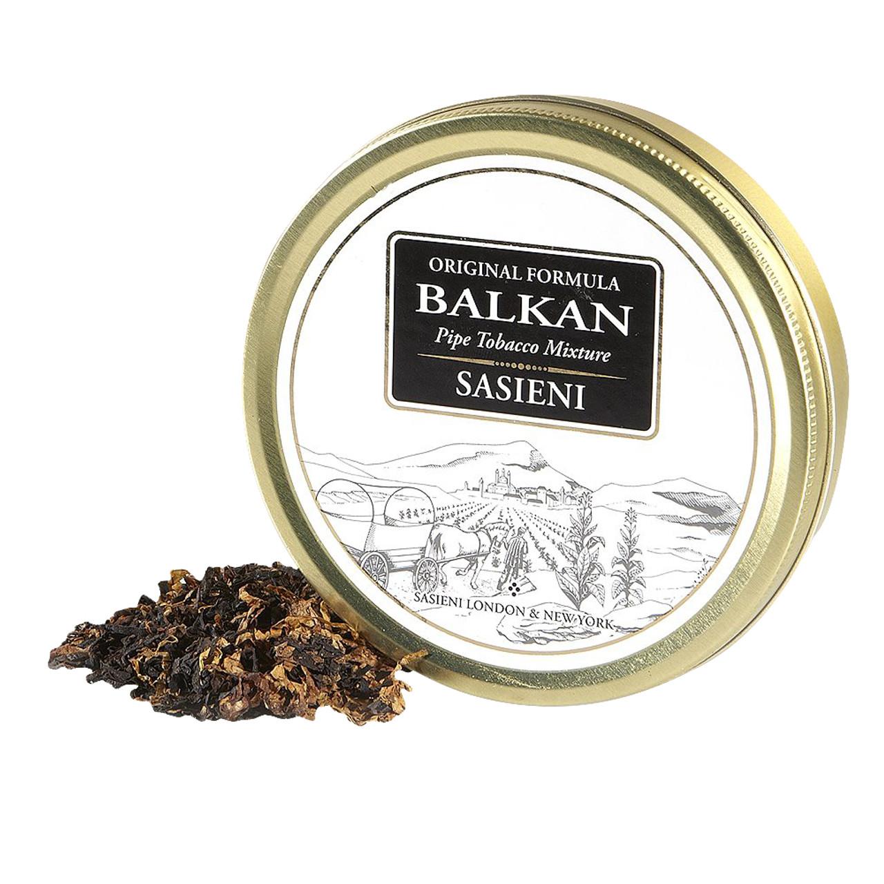 Balkan Sasieni Pipe Tobacco   1.75 OZ TIN