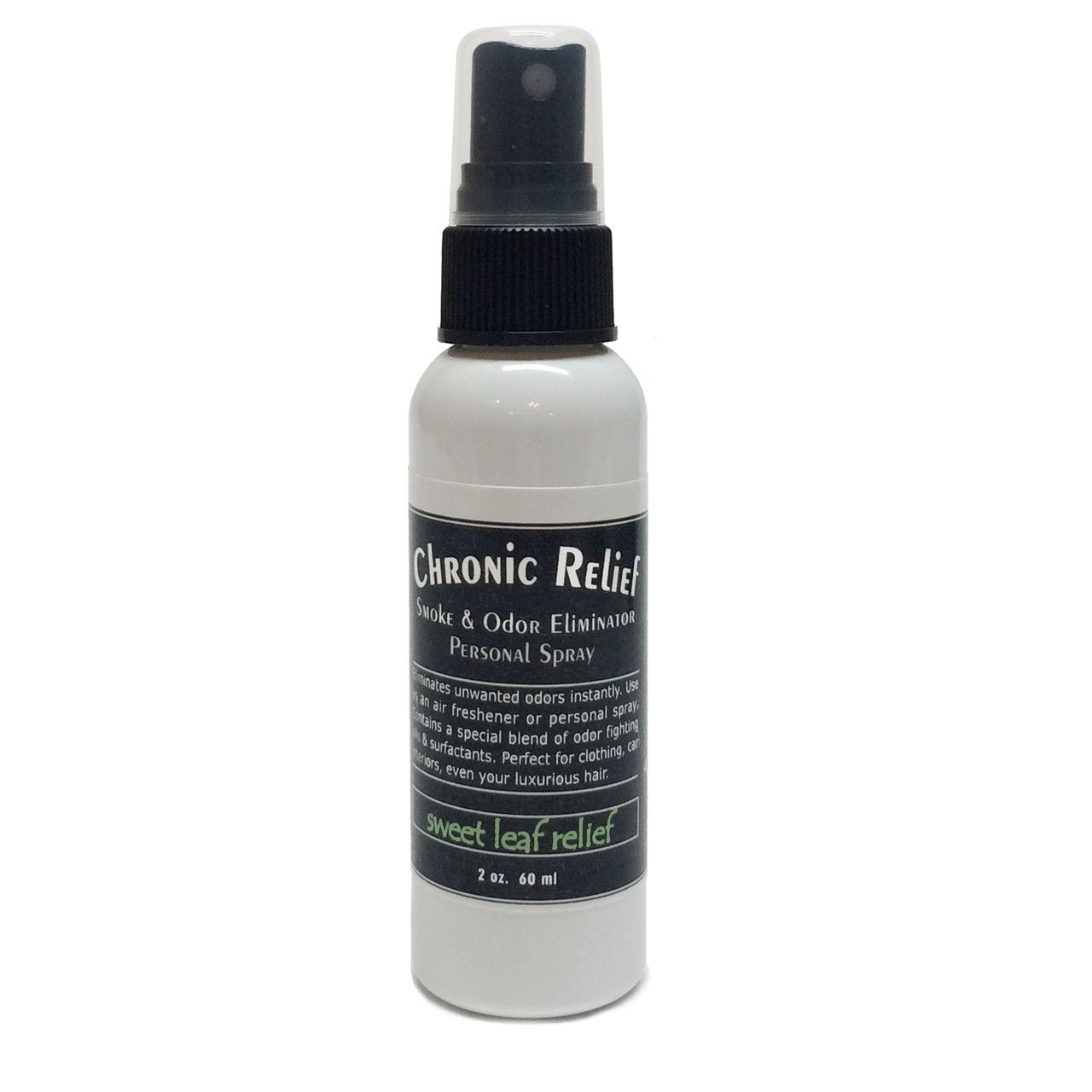 Chronic Relief Smoke and Odor Eliminator - Sweet Leaf Relief 2oz