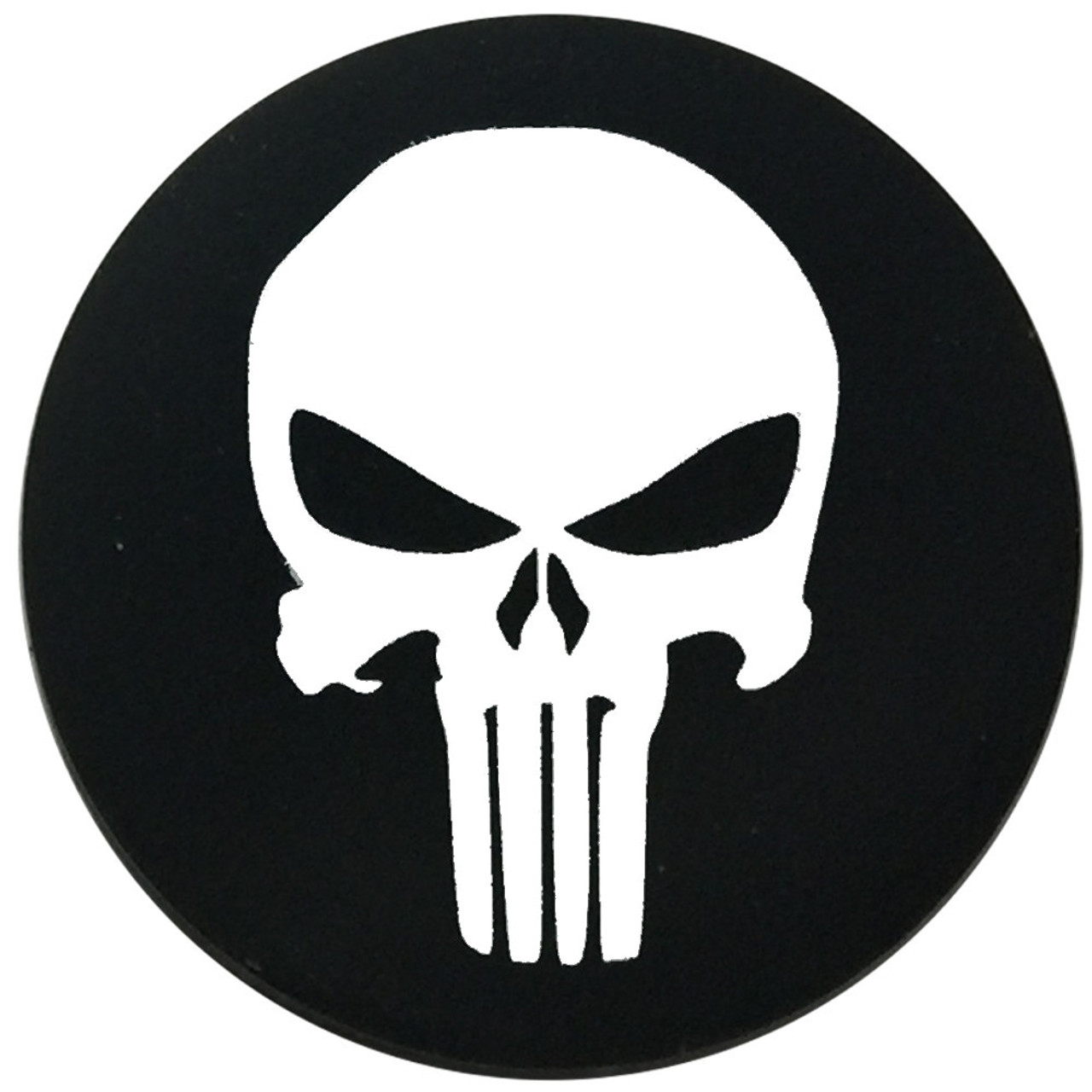 DC Skins Snuff Covers - Waterproof Protective Skins for Dip and Chew Cans - Punisher
