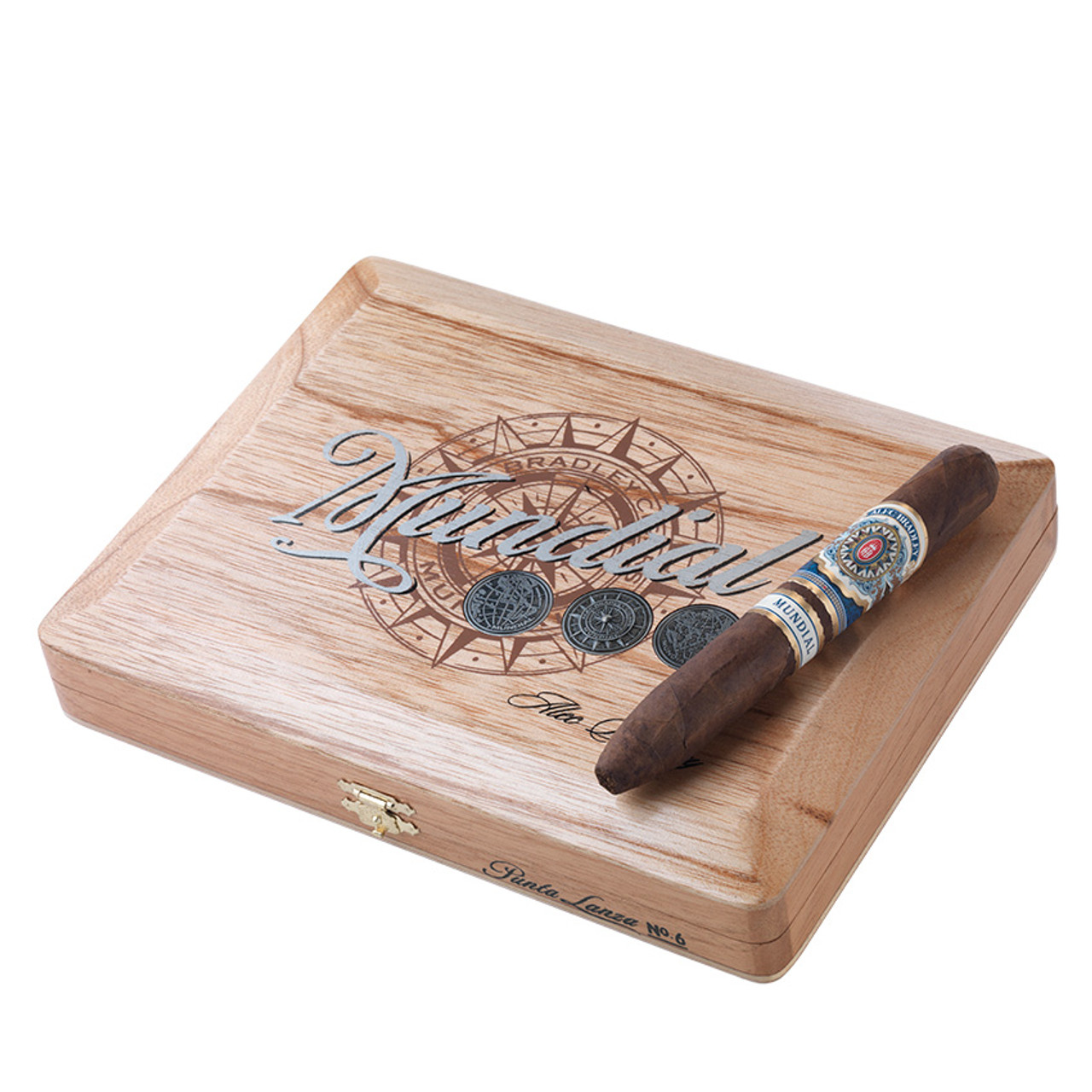 Alec Bradley Mundial PL# 6 Cigars - 6 x 54 (Box of 10)