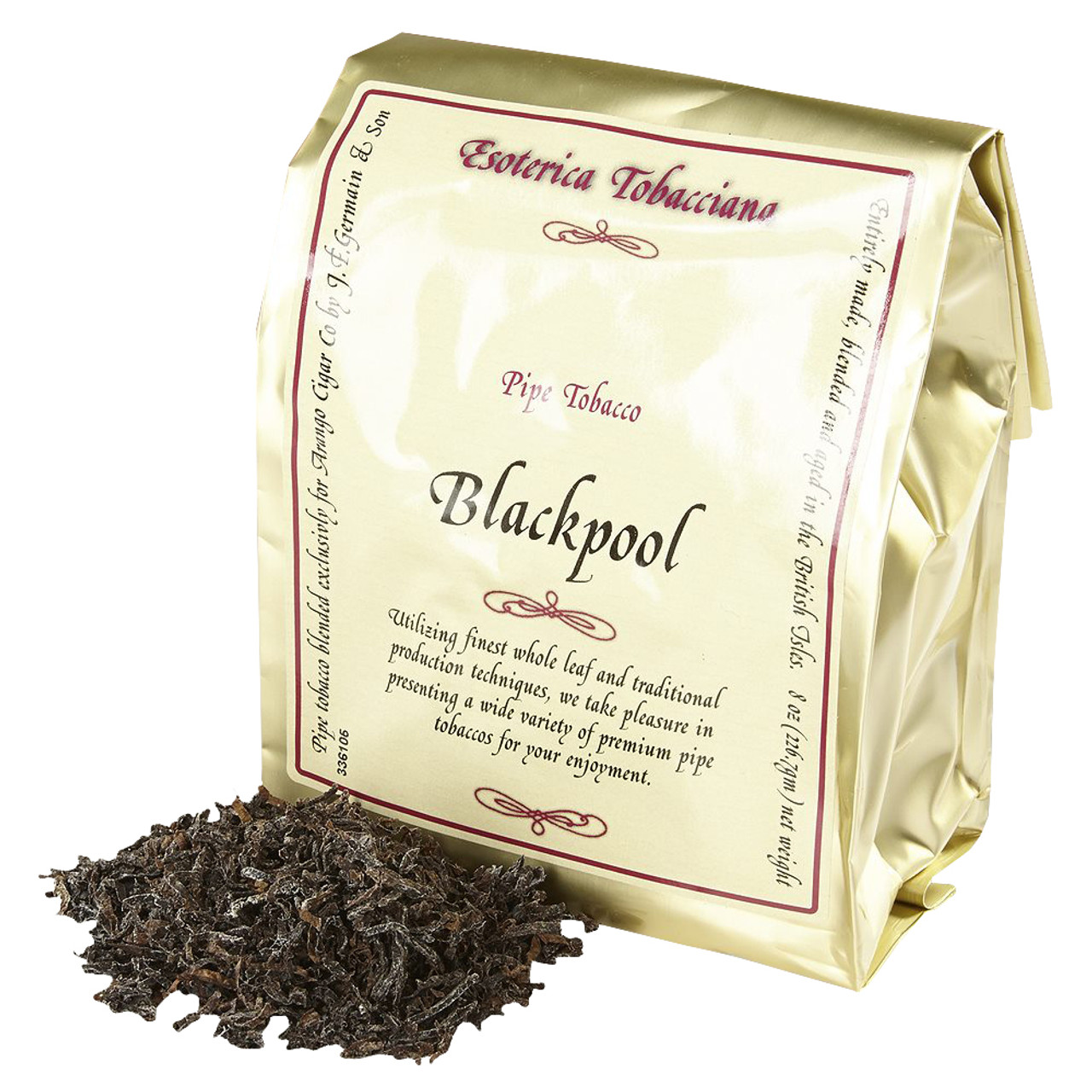 Esoterica Blackpool Pipe Tobacco | 8 OZ BAG