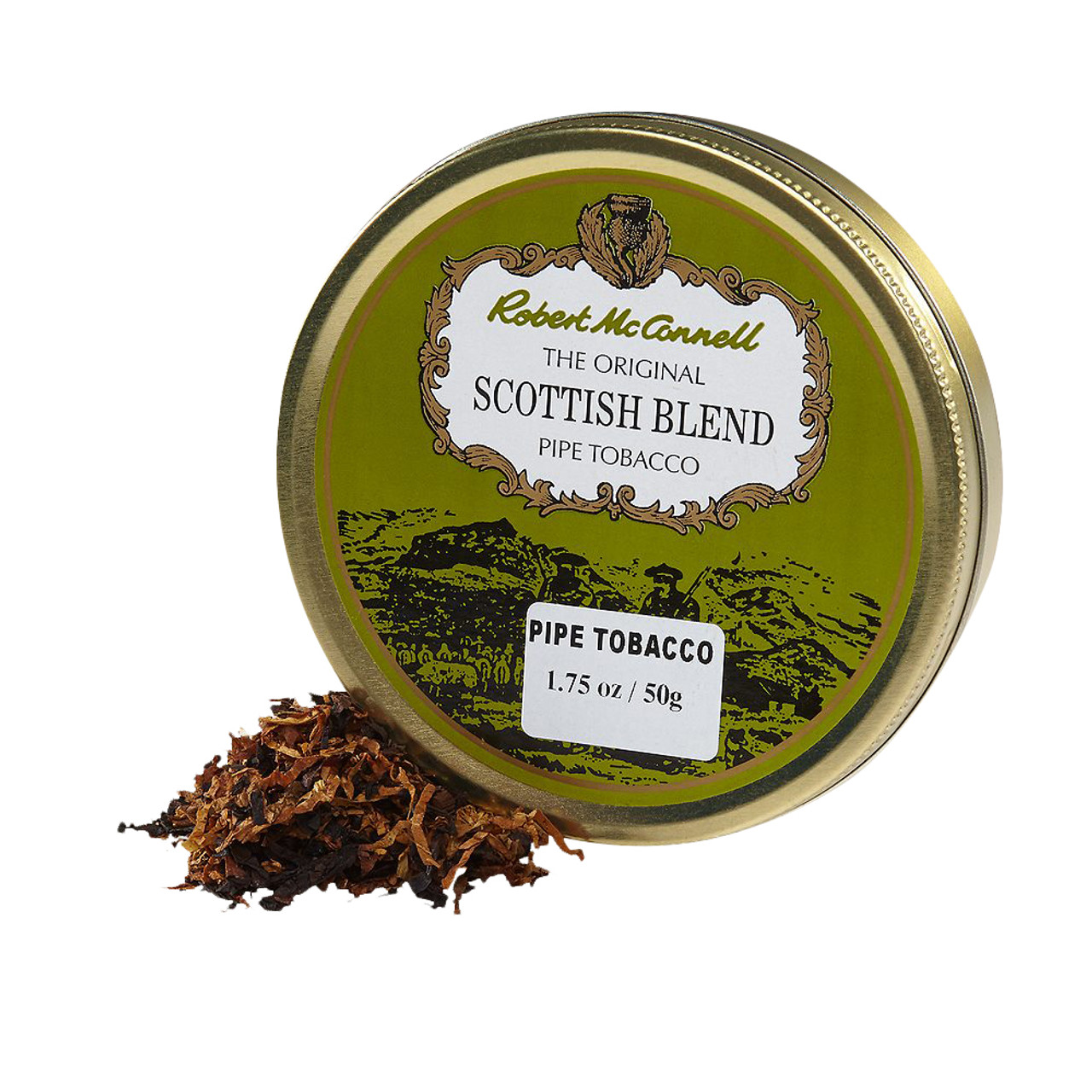 McConnell's Scottish Blend Pipe Tobacco | 1.75 OZ TIN