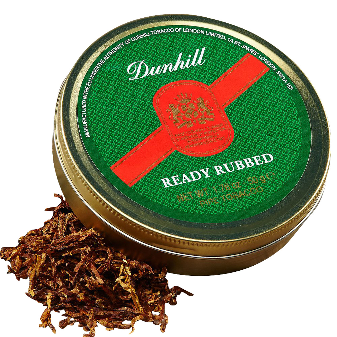 Dunhill Ready Rubbed Pipe Tobacco | 1.75 OZ TIN