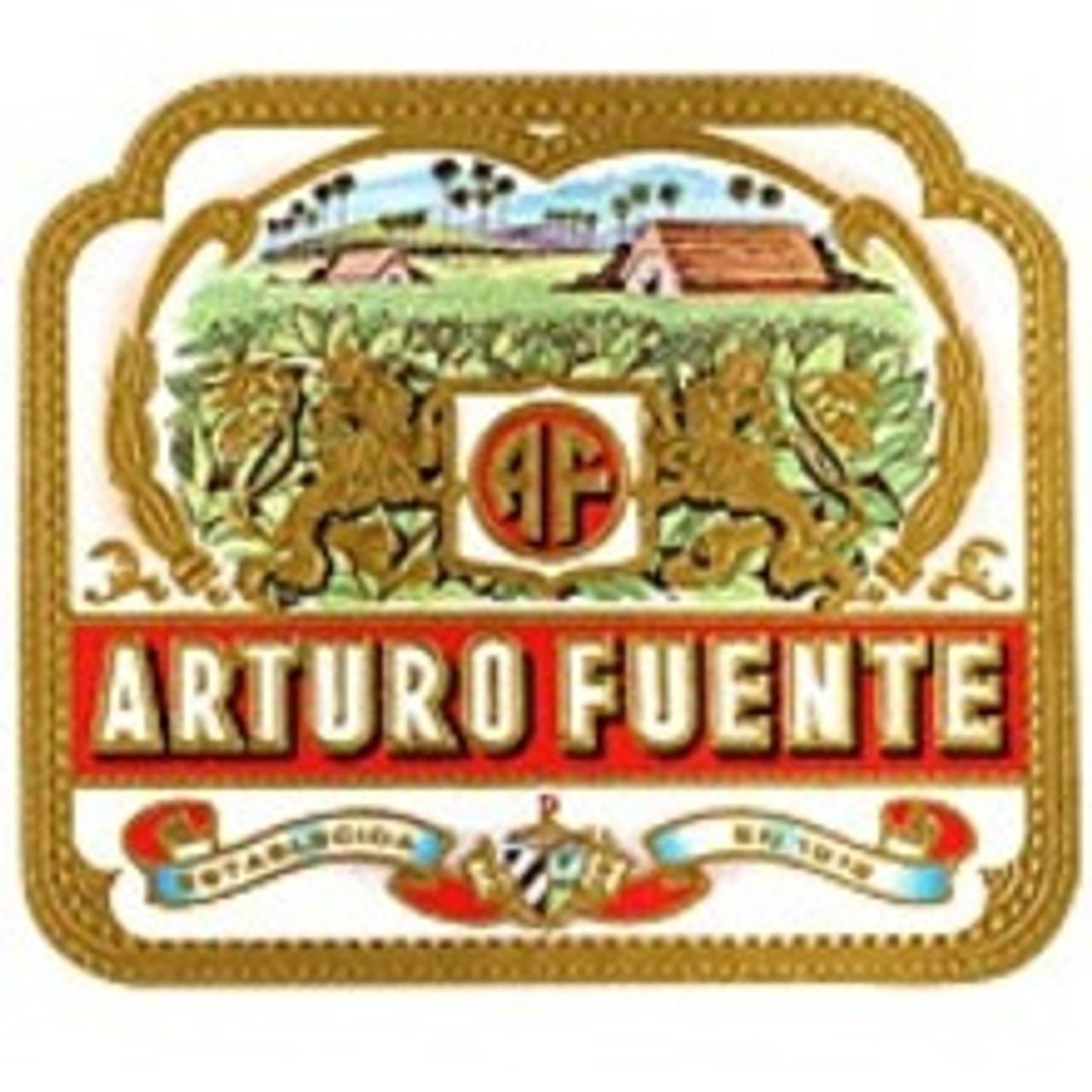 Arturo Fuente Curly Head Deluxe Maduro Cigars - 6.50 x 44 (Box of 25)