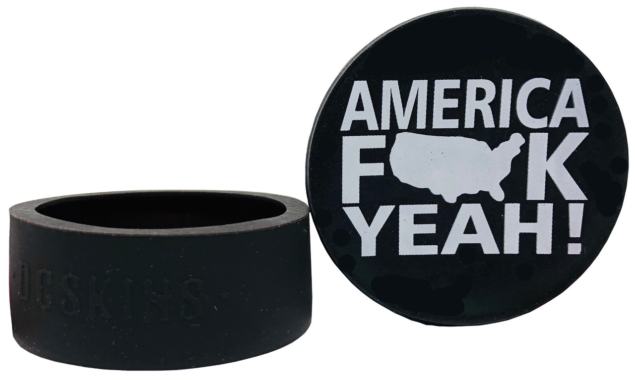 DC Skins Snuff Covers - Waterproof Protective Skins for Dip and Chew Cans - America