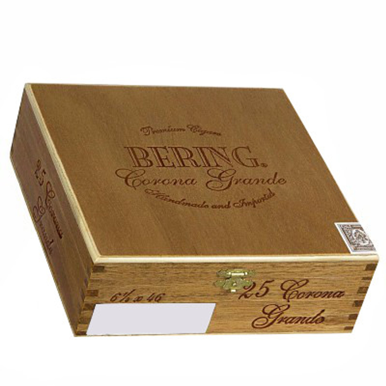 Bering Corona Grande Natural Cigars - 6 1/4 x 46 (Box of 25)