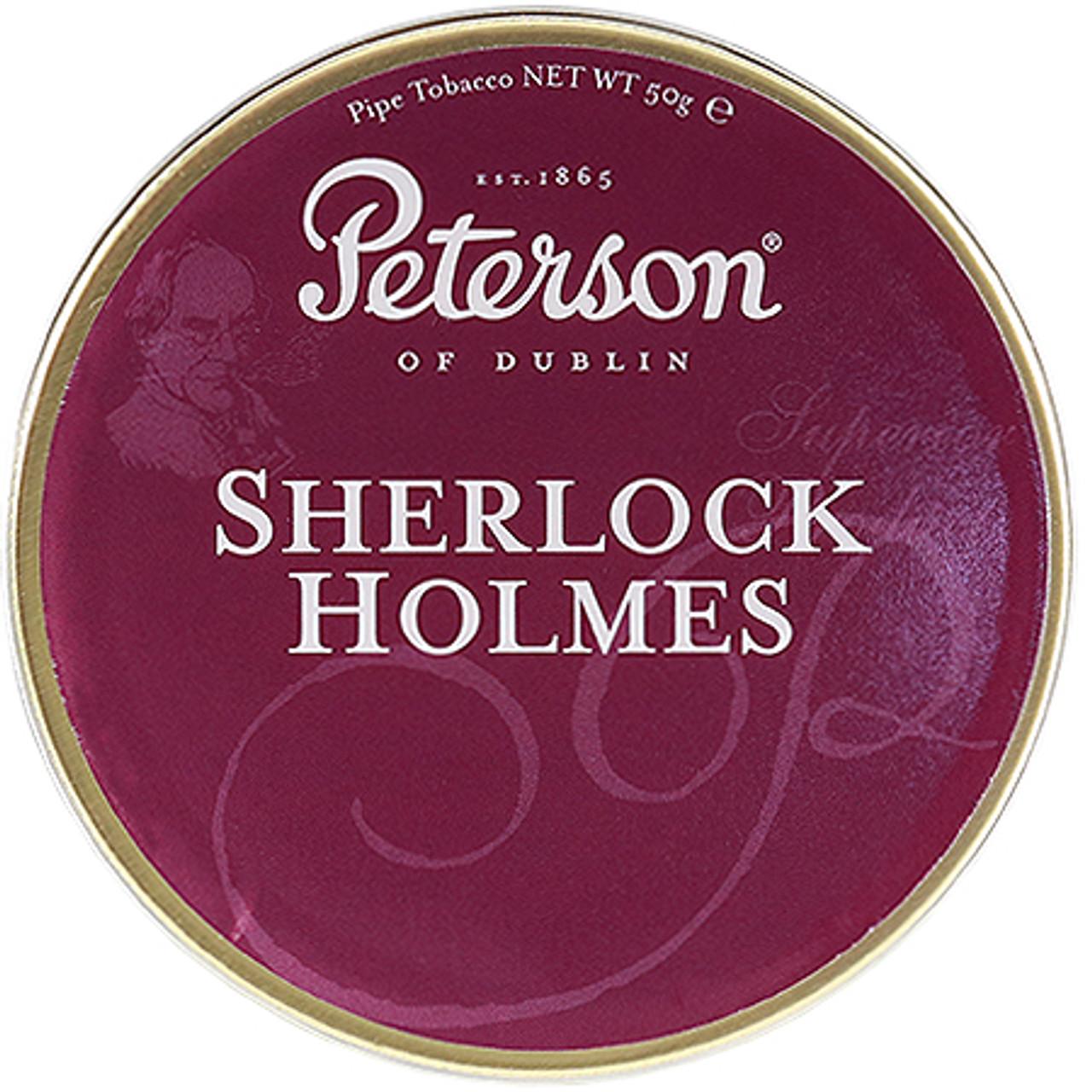 Peterson Sherlock Holmes Pipe Tobacco | 1.75 OZ TIN