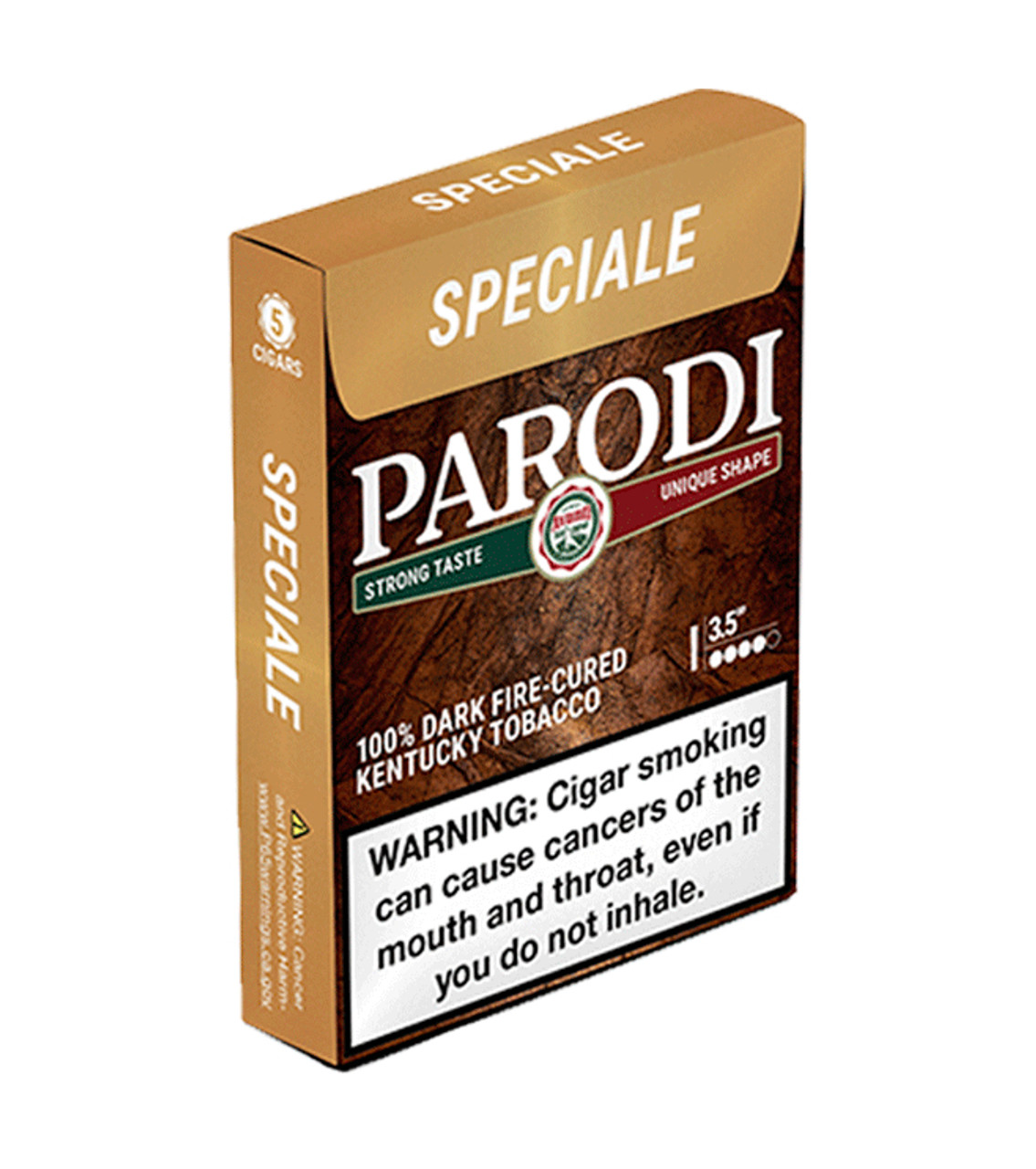 Parodi Speciale Cigars (10 Packs Of 5) - Natural