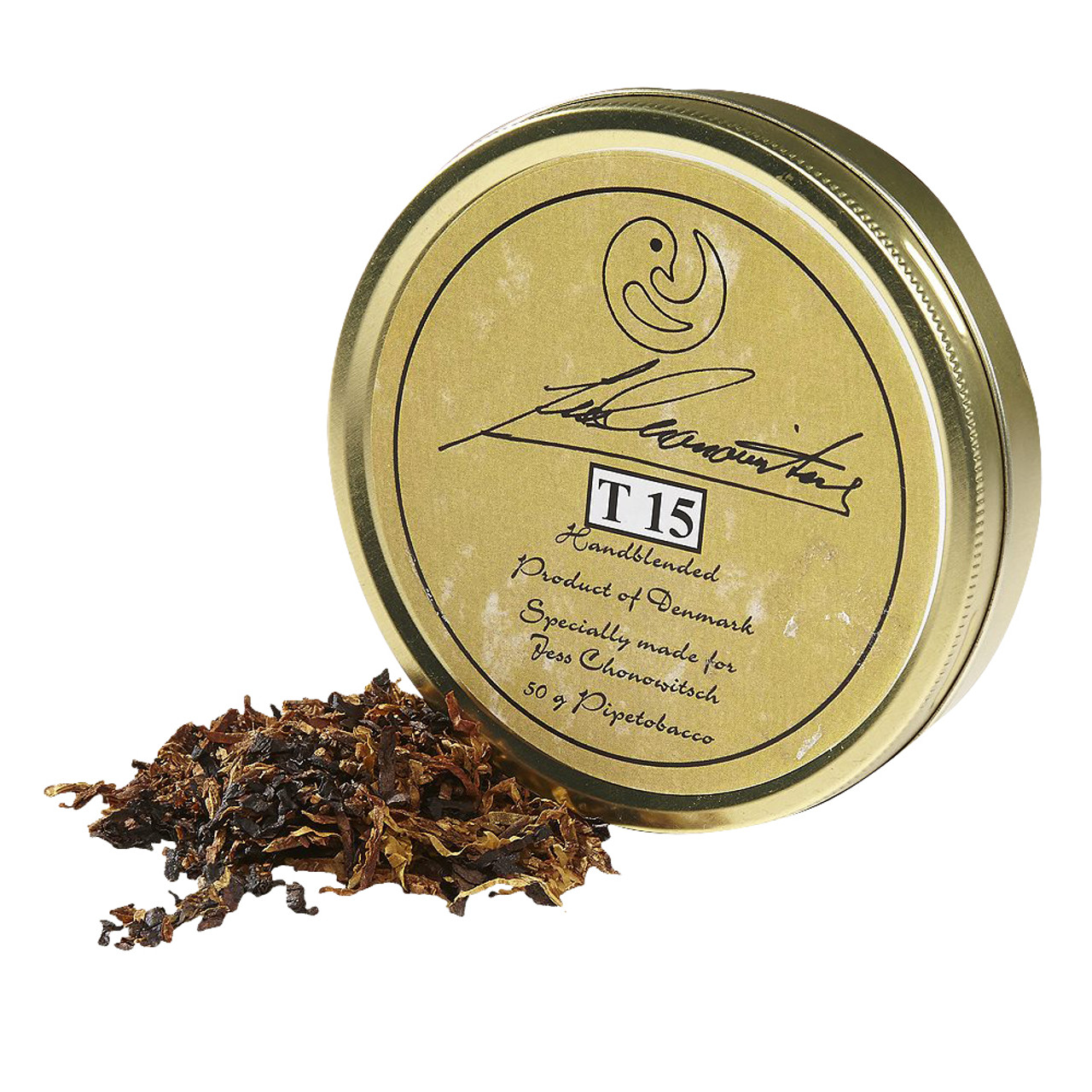Chonowitsch T 15 Pipe Tobacco | 1.75 OZ TIN