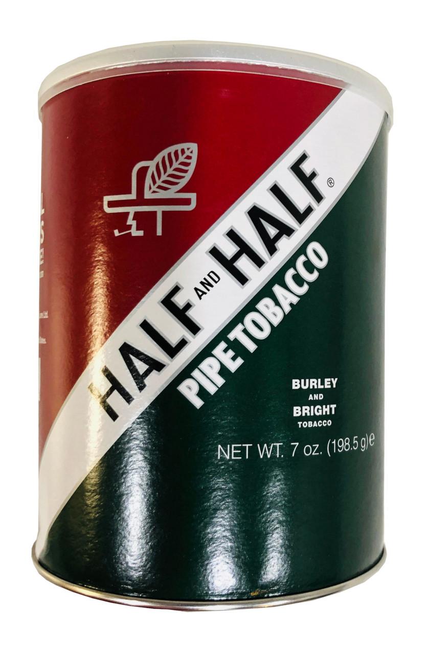Half and Half Pipe Tobacco   7 OZ TIN