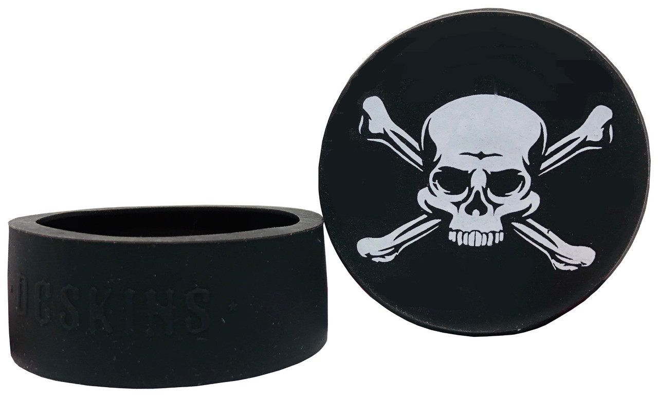DC Skins Snuff Covers - Waterproof Protective Skins for Dip and Chew Cans - Jolly Roger