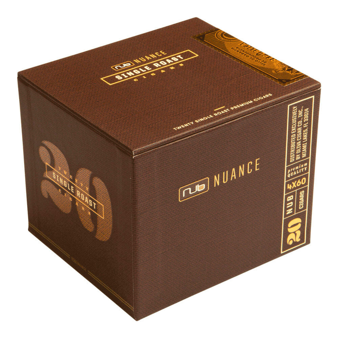 Nub Nuance Single Roast Cigars - 4 x 60 (Box of 20)