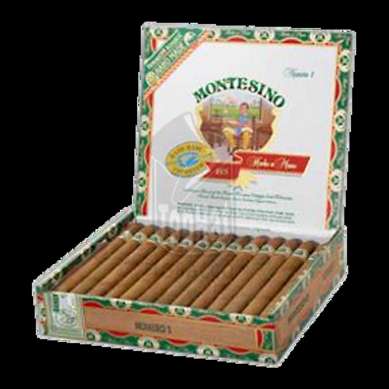 Montesino No. 1 Natural Cigars - 6 7/8 x 43 (Box of 25)