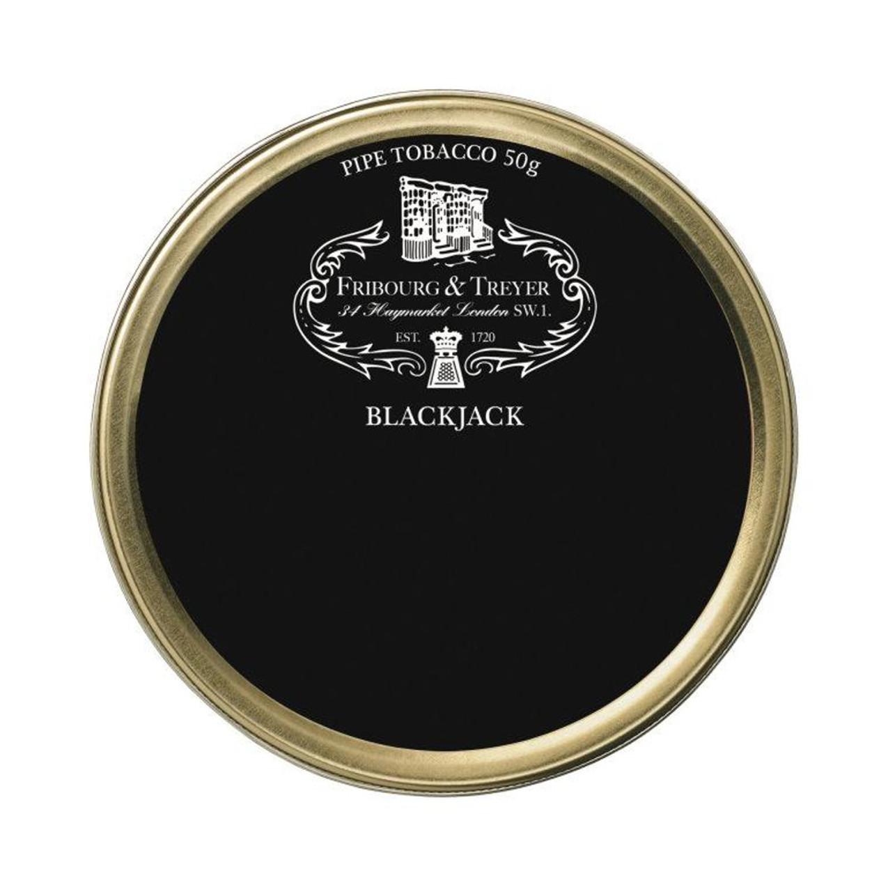 Fribourg & Treyer Blackjack Pipe Tobacco | 1.75 OZ TIN
