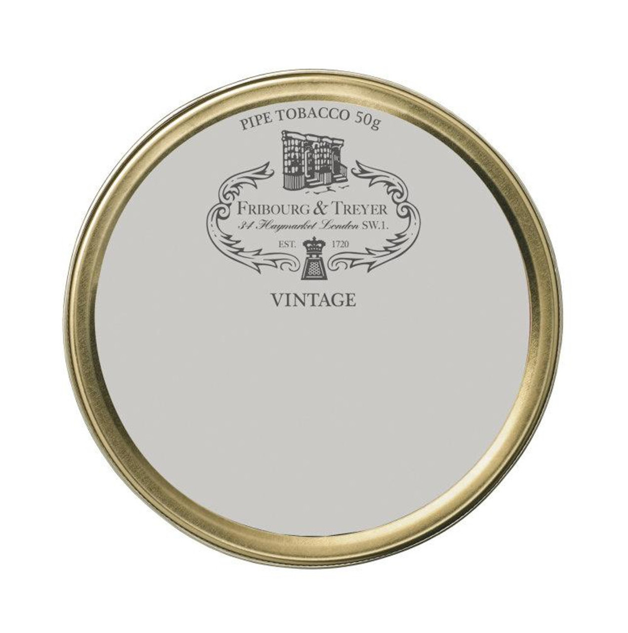 Fribourg & Treyer Vintag Flake Pipe Tobacco | 1.75 OZ TIN