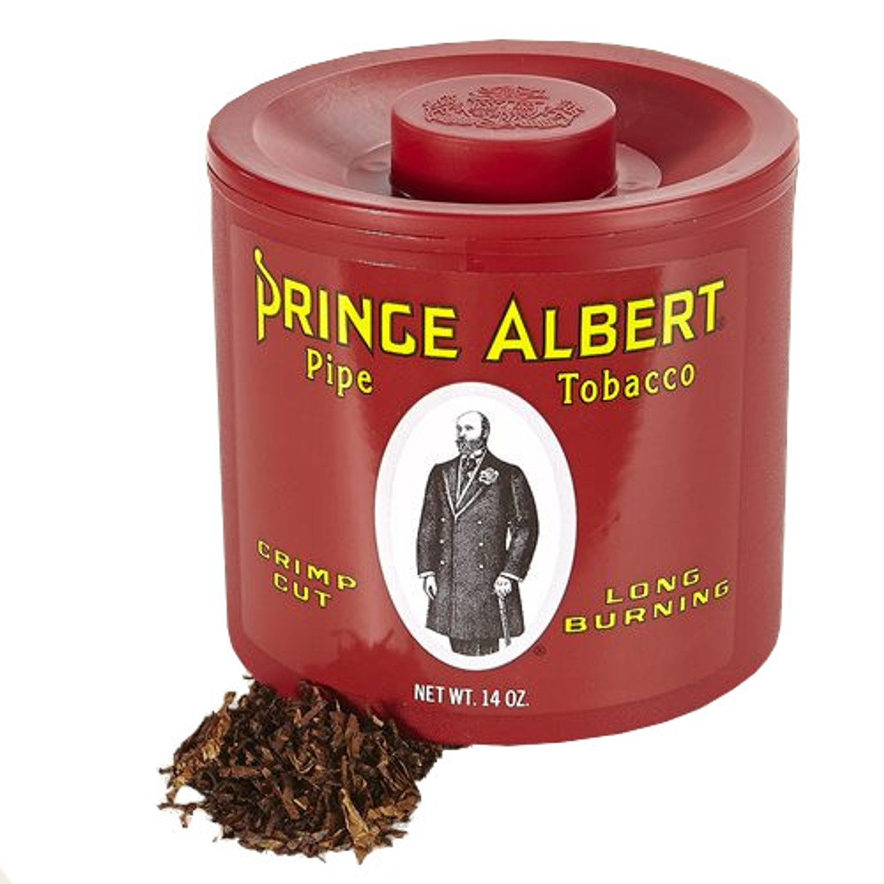 Prince Albert Regular Pipe Tobacco   14 OZ TIN