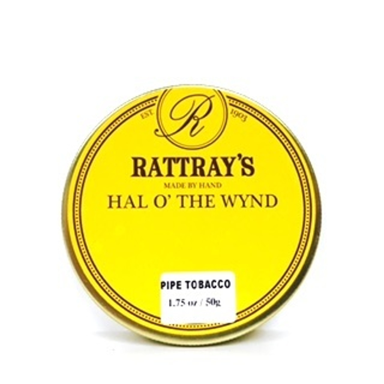 Rattray's Hal O' the Wynd Pipe Tobacco | 1.75 OZ TIN