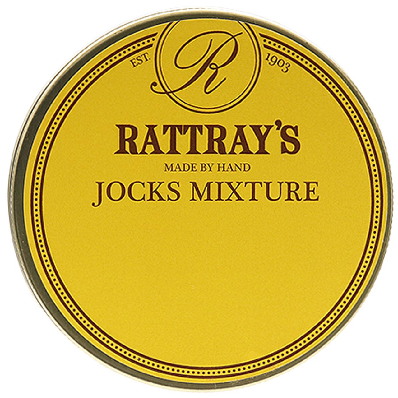 Rattray's Jocks Mixture Pipe Tobacco   1.75 OZ TIN