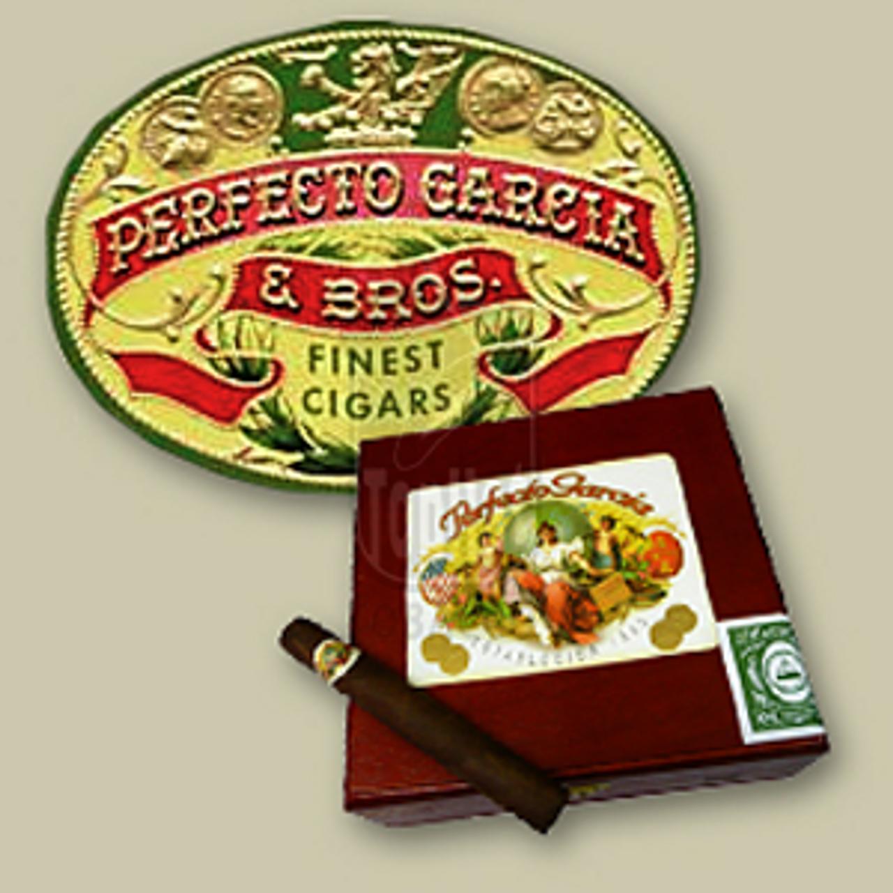 Perfecto Garcia Brilliante Maduro Cigars - 5 1/2 x 50 (Box of 10)