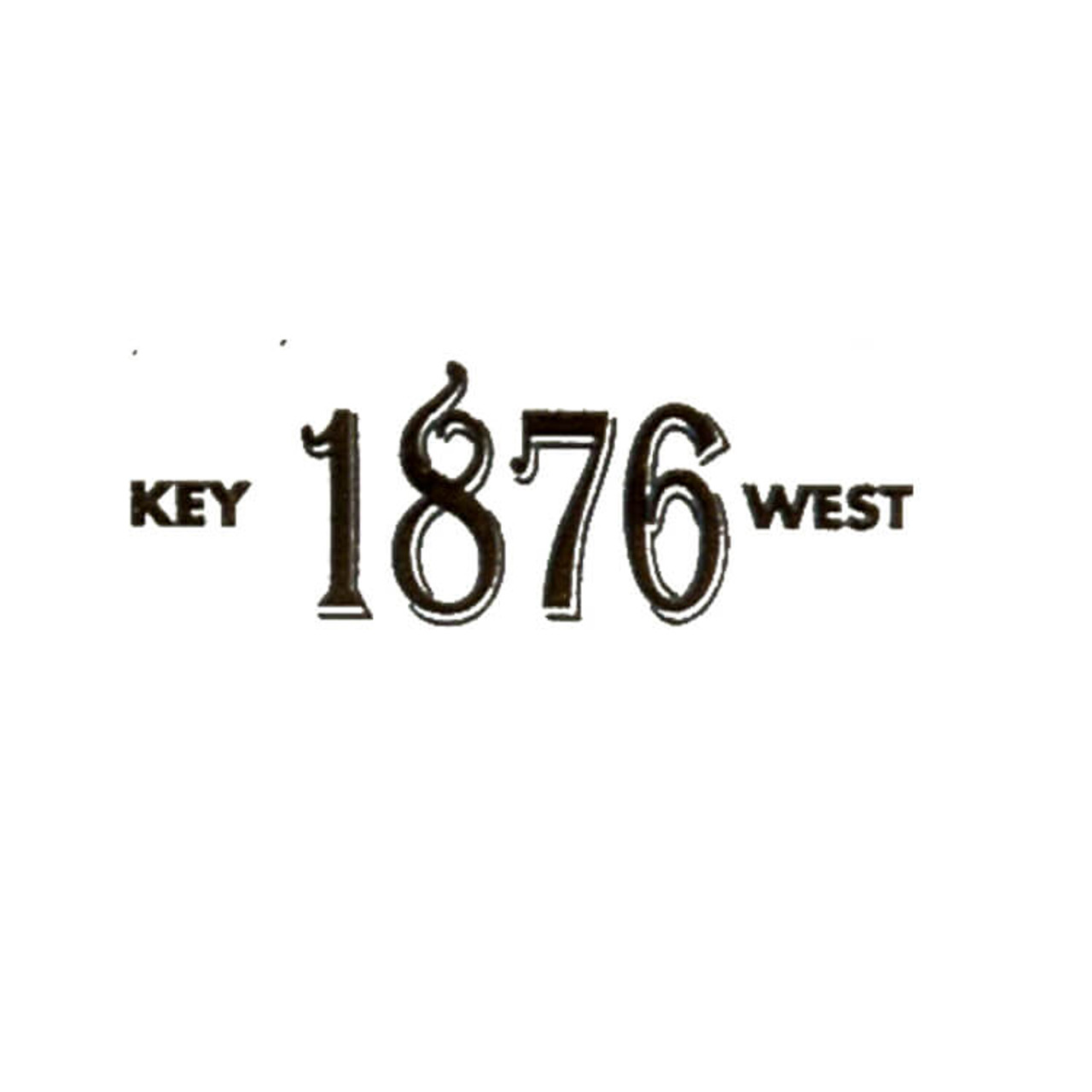1876 Key West Maduro Robusto Cigars 5 x 50 (Bundle of 25)