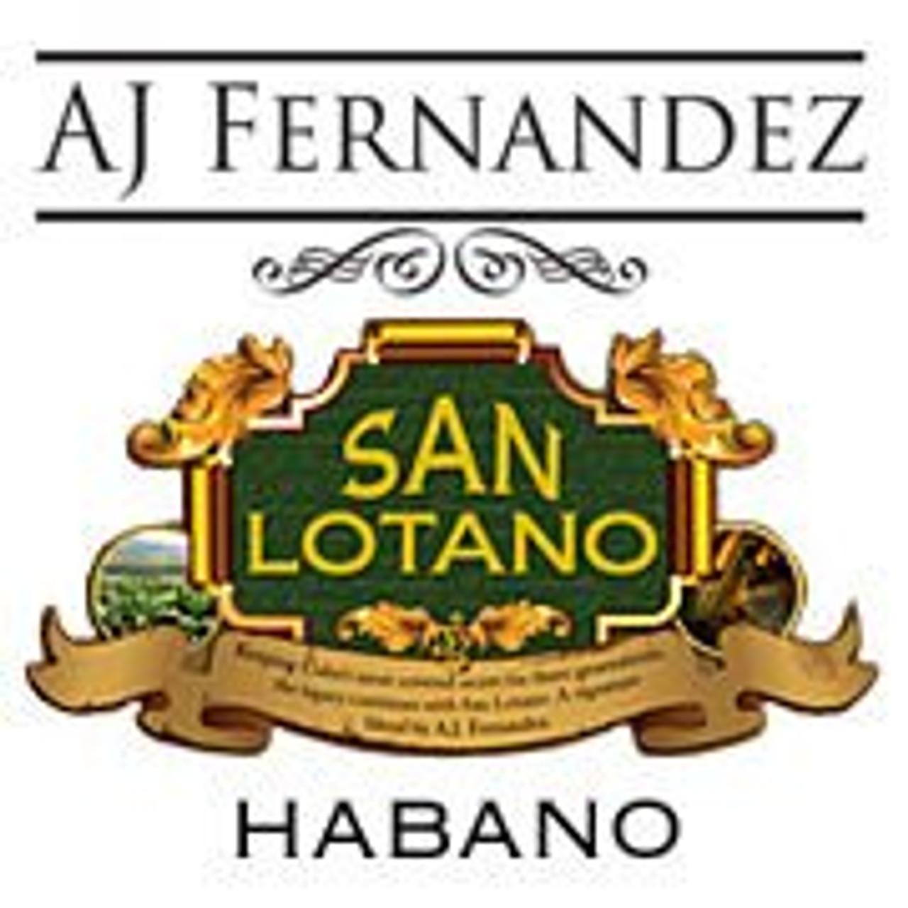 AJ Fernandez San Lotano Habano Toro - 6 x 54 Cigars (Box of 20)