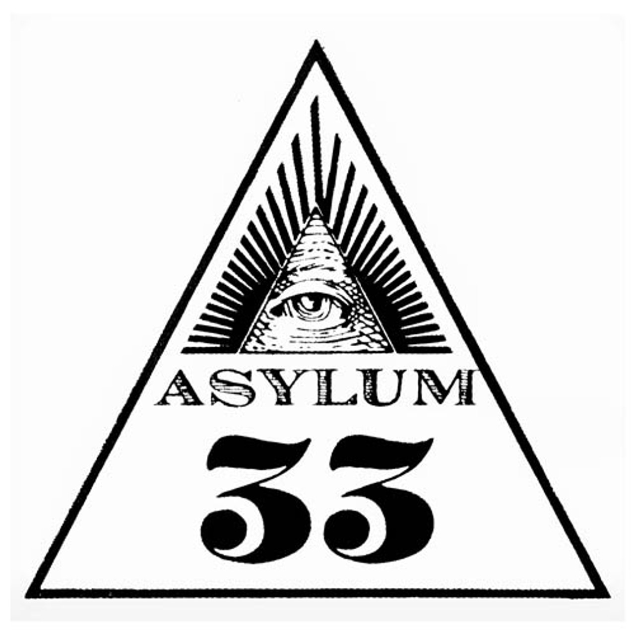 Asylum 33 6X52 Cigars - 6 x 52 (Box of 10)