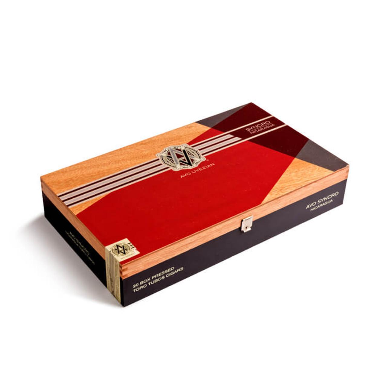 AVO Syncro Nicaragua Toro Tubo Cigars - 6 x 54 (Box of 20)
