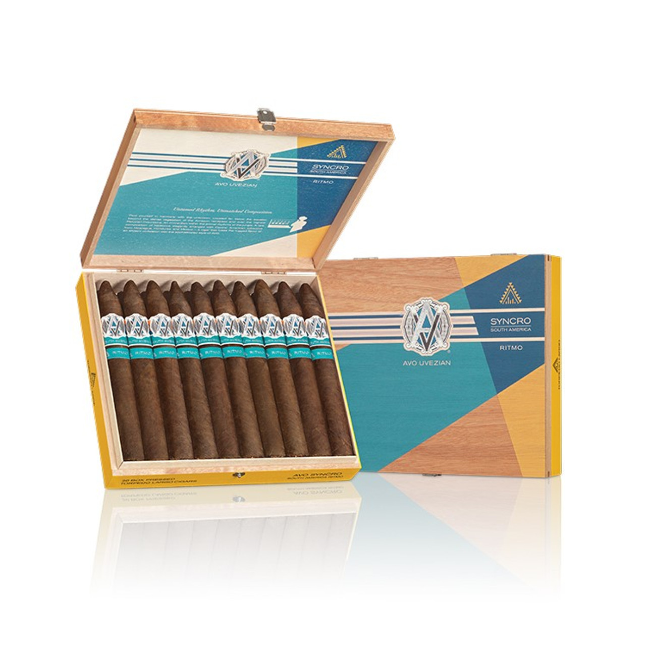 AVO Syncro Ritmo Robusto Cigars - 5 x 50 (Box of 20)