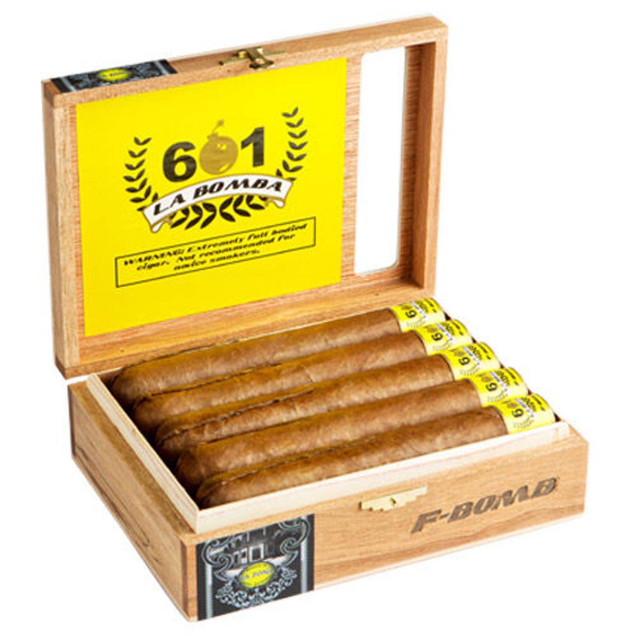 601 La Bomba F-Bomb - 7 x 70 Cigars (Box of 10)