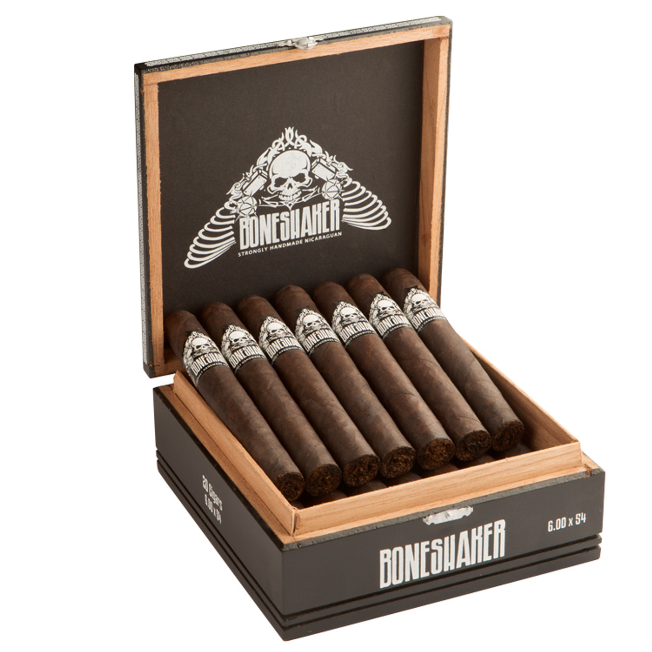 Boneshaker Full Body Cast Mace Cigars - 4.5 x 60 (Box of 20)