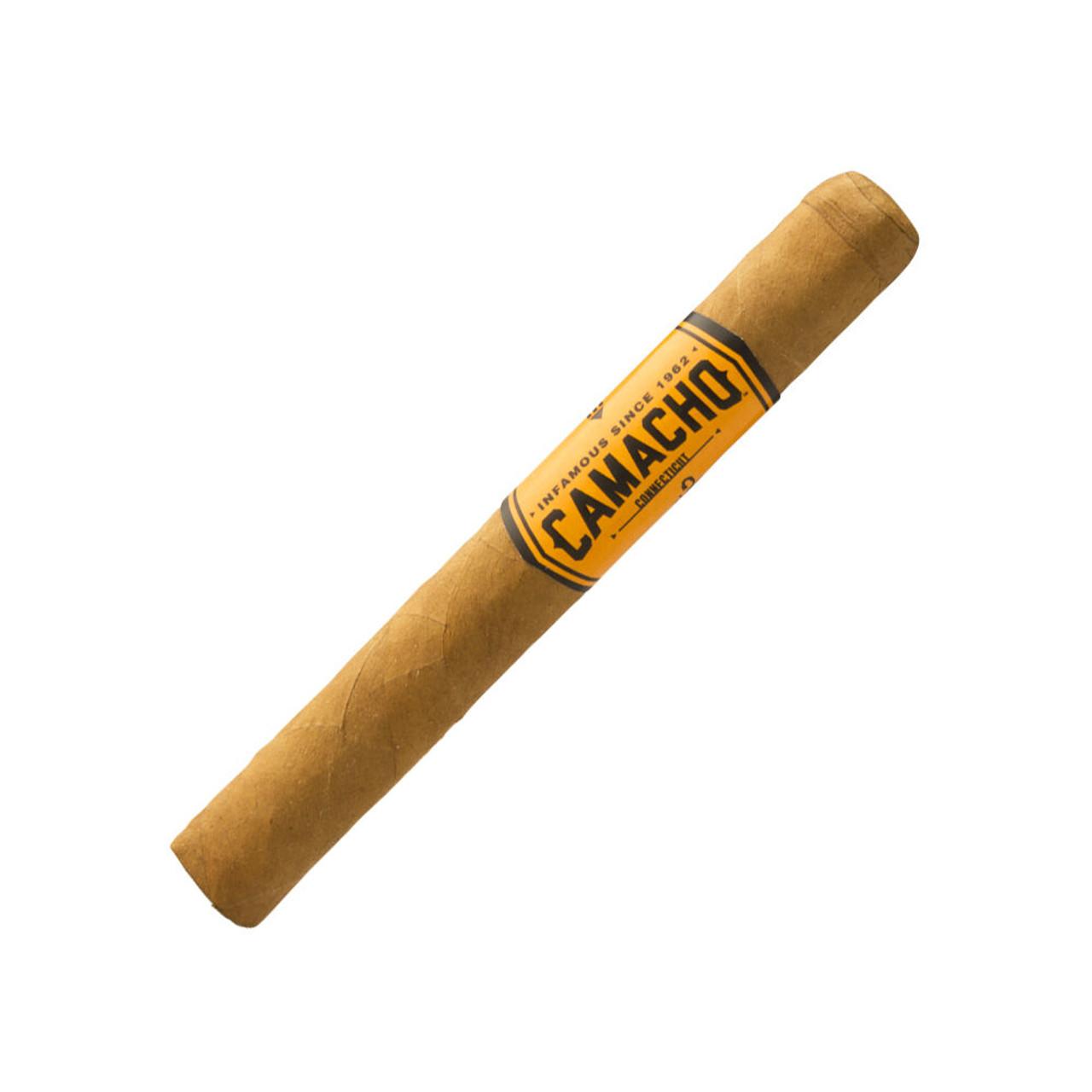 Camacho Connecticut Machitos Cigars - 4 x 32 (5 Tins of 6)