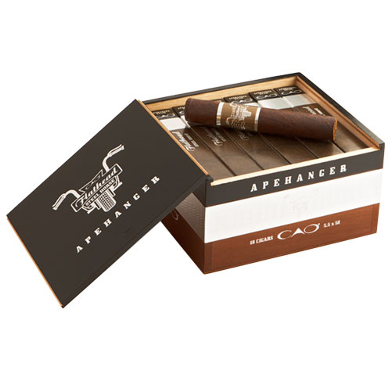 CAO Flathead Steel Horse Roadkill Cigars - 5.5 x 54 (Box of 18)