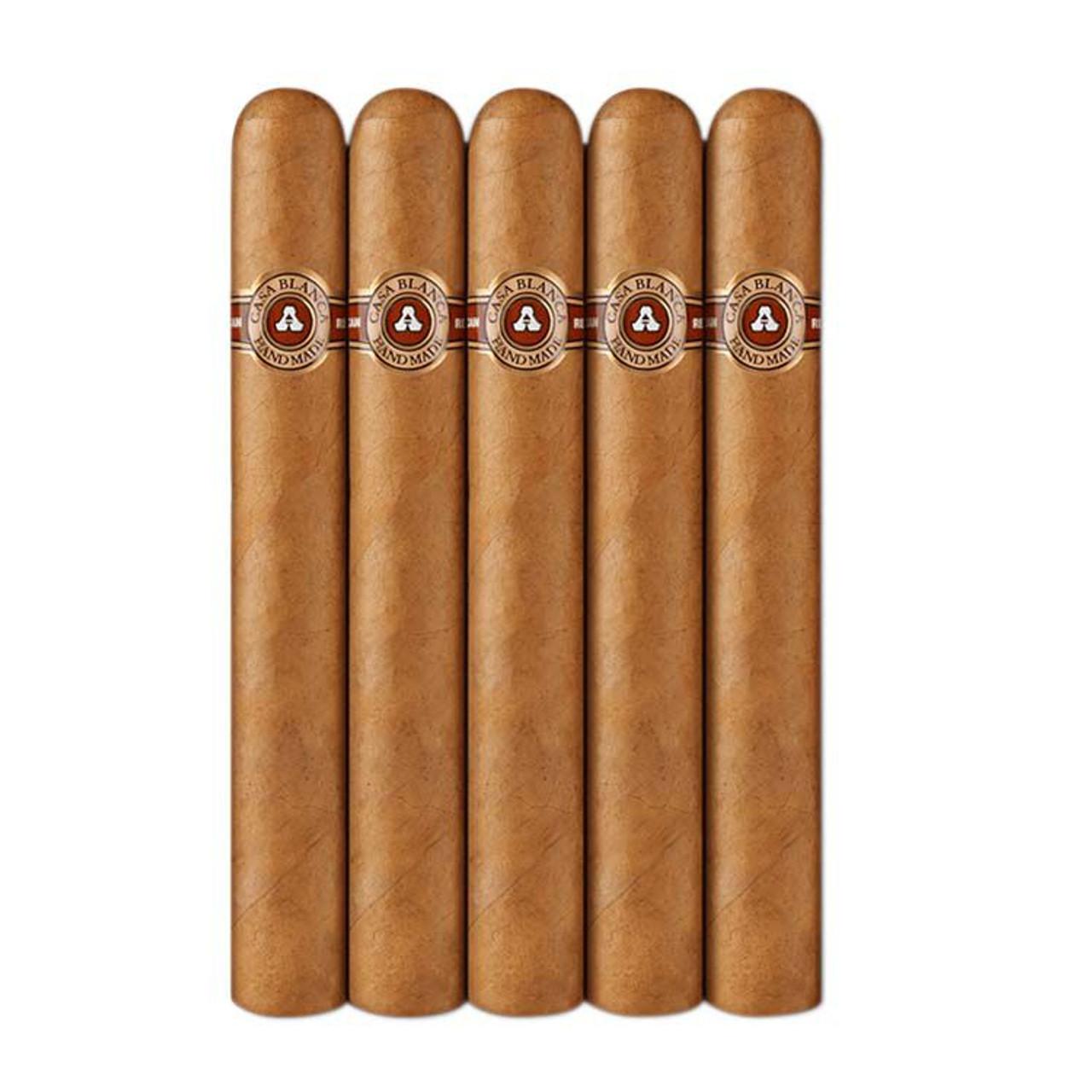 Casa Blanca Magnum Cigars - 7 x 60 (Pack of 5)