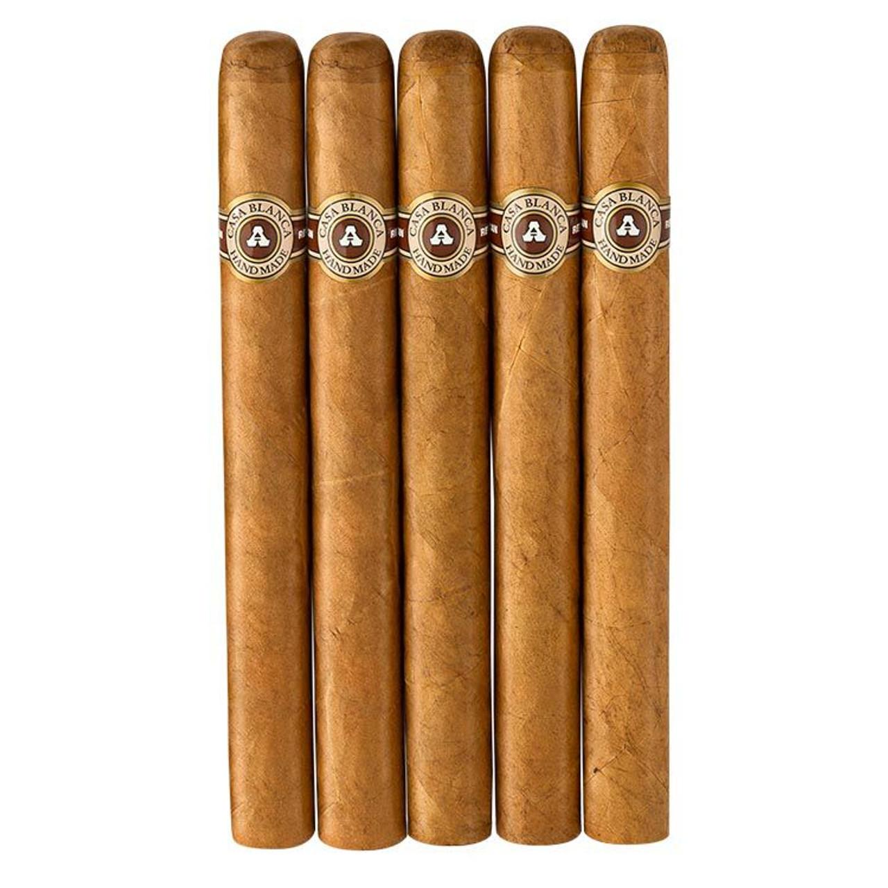 Casa Blanca President Cigars - 7.5 x 50 (Pack of 5)