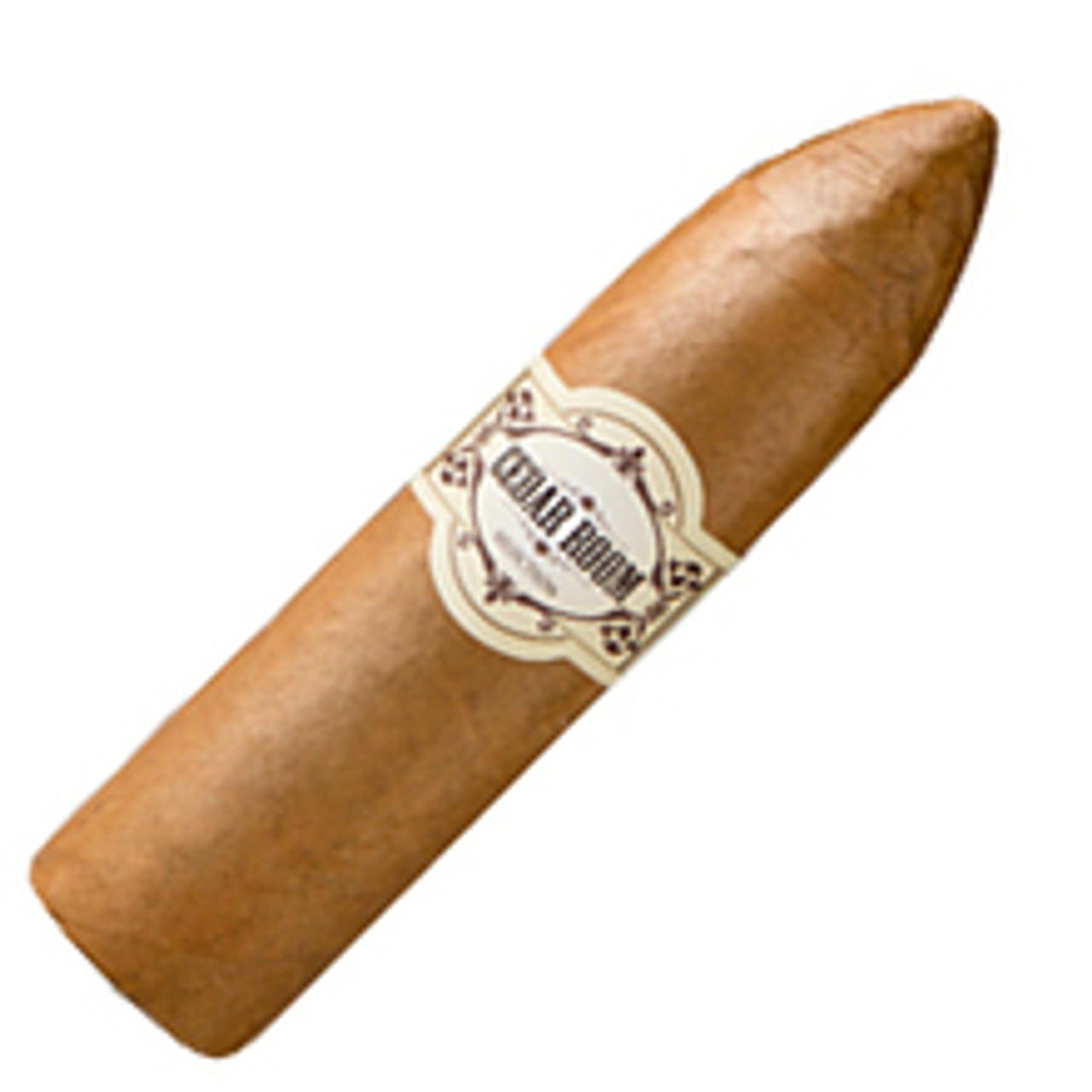 Cedar Room Connecticut Ecuadorian Short Magnum Cigars - 4 x 60 (Pack of 5)