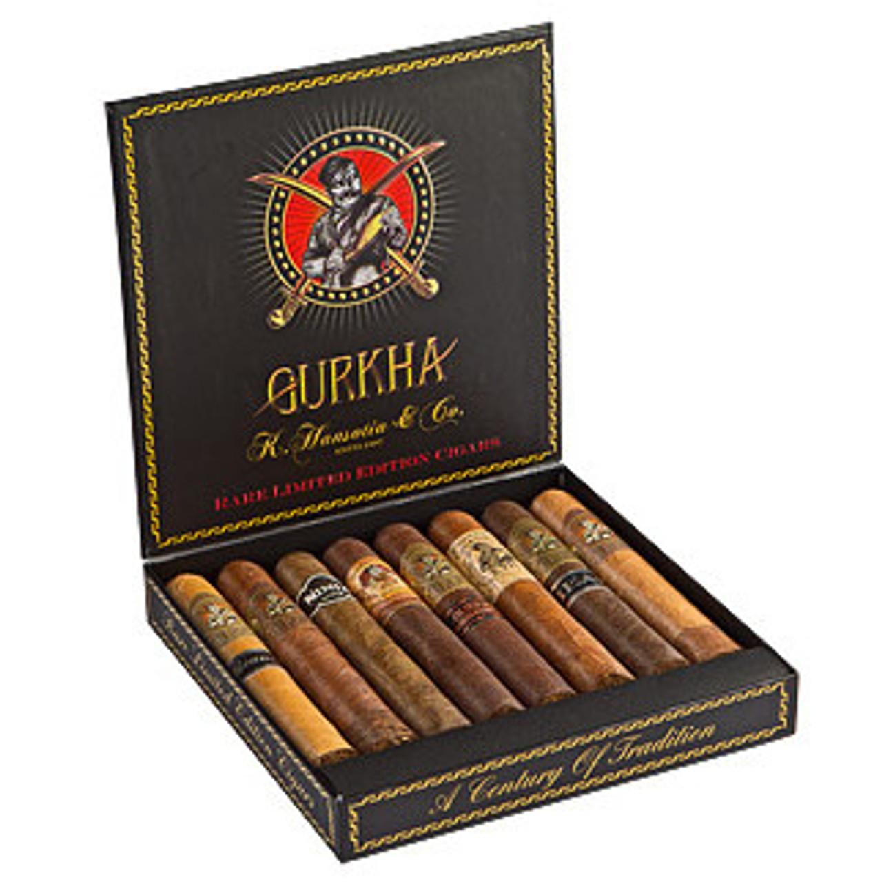 Samplers Gurkha Godzilla Cigars - 6 x 60 (Pack of 8)
