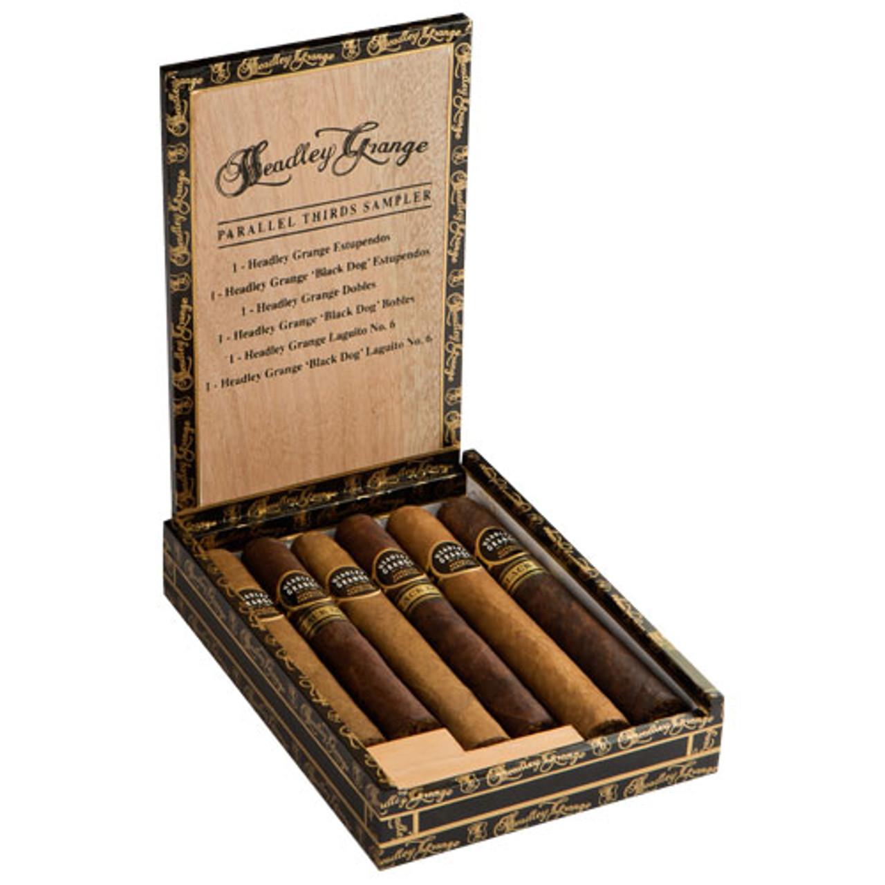 Cigar Samplers Headley Grange 6-Cigar Assortment (Pack of 6)