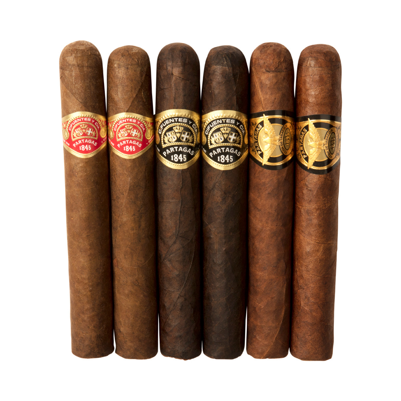 Partagas Collection (Box of 6 Plus a Lighter)