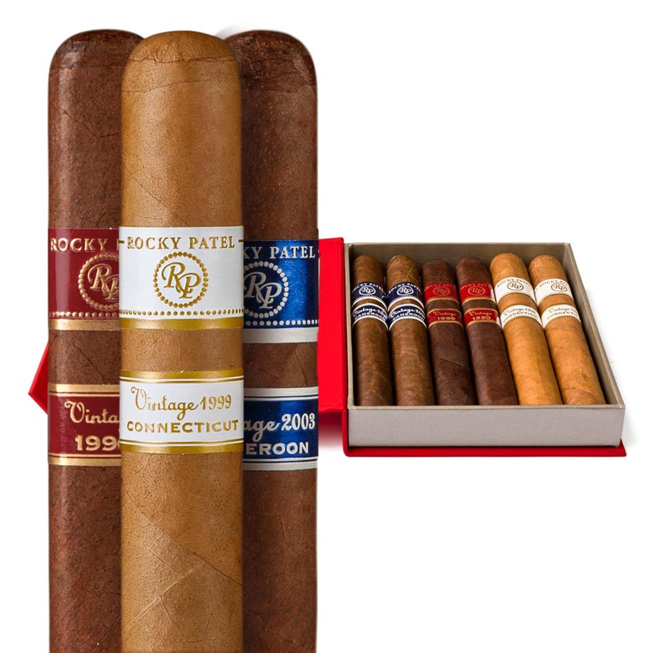 Cigar Samplers Rocky Patel Vintage Gift Pack (Box of 6)