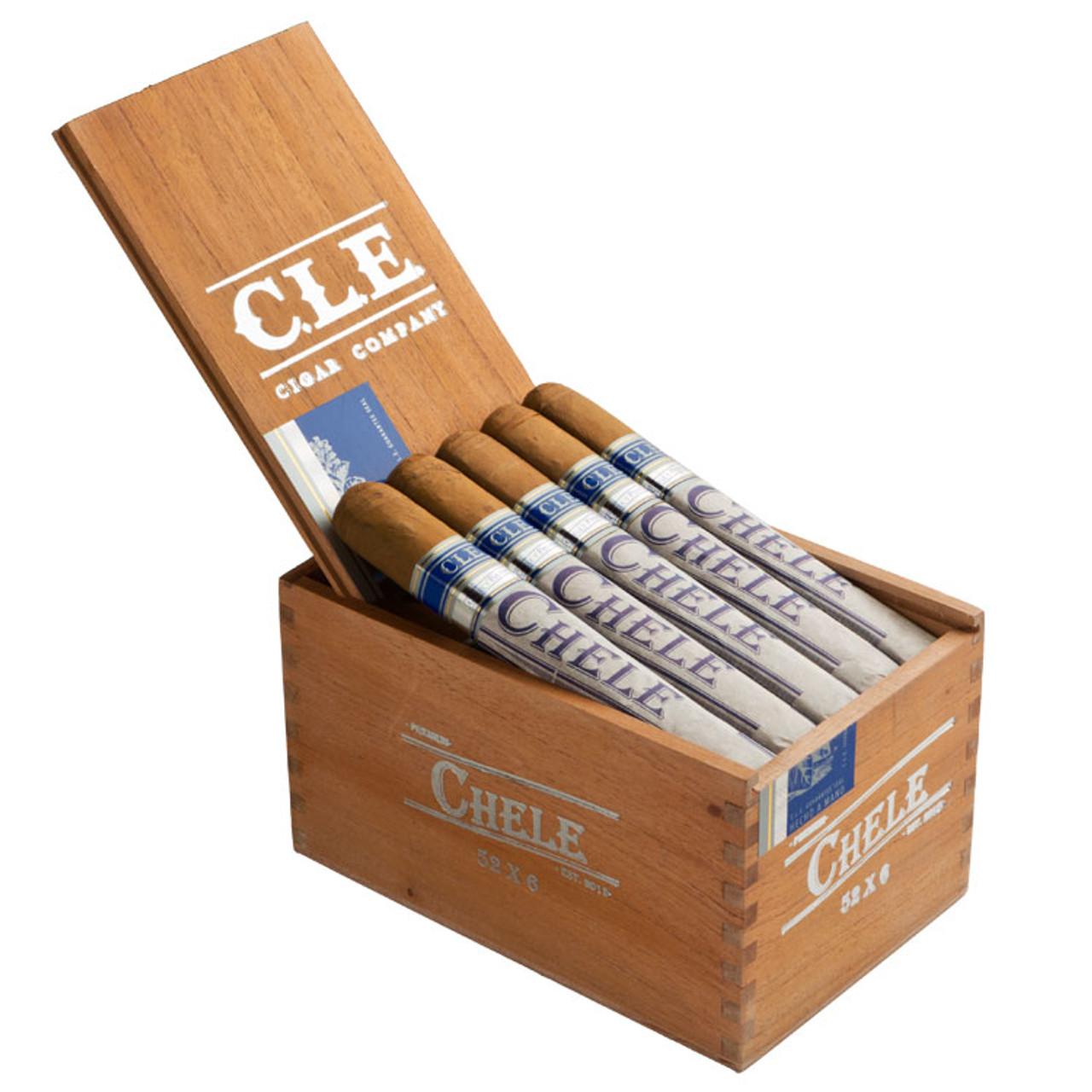 CLE Chele No. 550 Cigars - 5 x 50 (Box of 25)