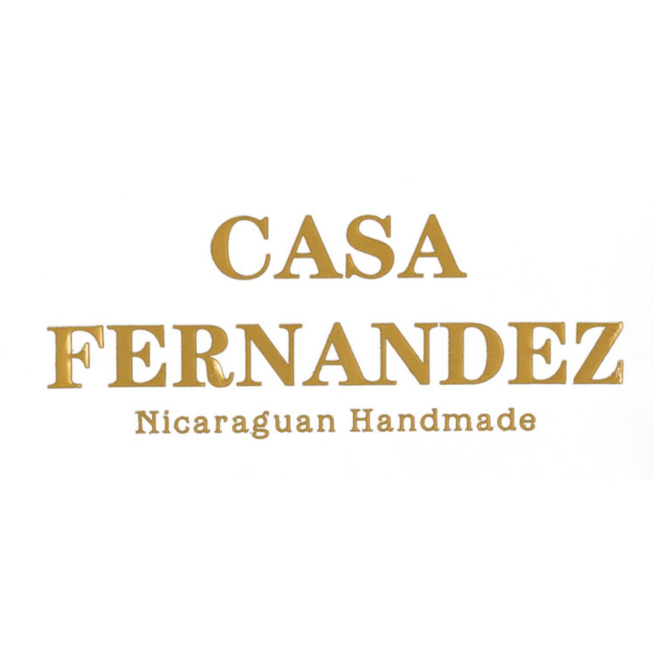 Crafted by JR Casa Fernandez Gordo Cigars - 6 x 60 (Bundle of 10)