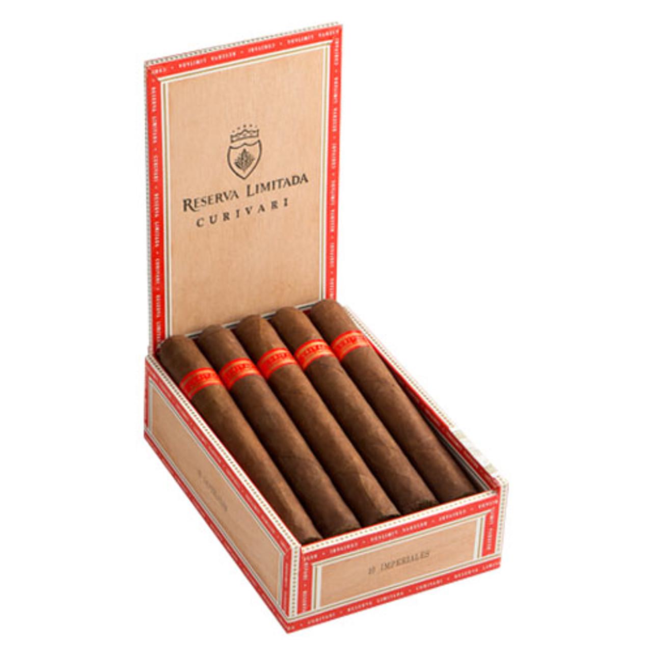 Curivari Reserva Limitada Classica Imperiales Cigars - 6.25 x 54 (Box of 10)