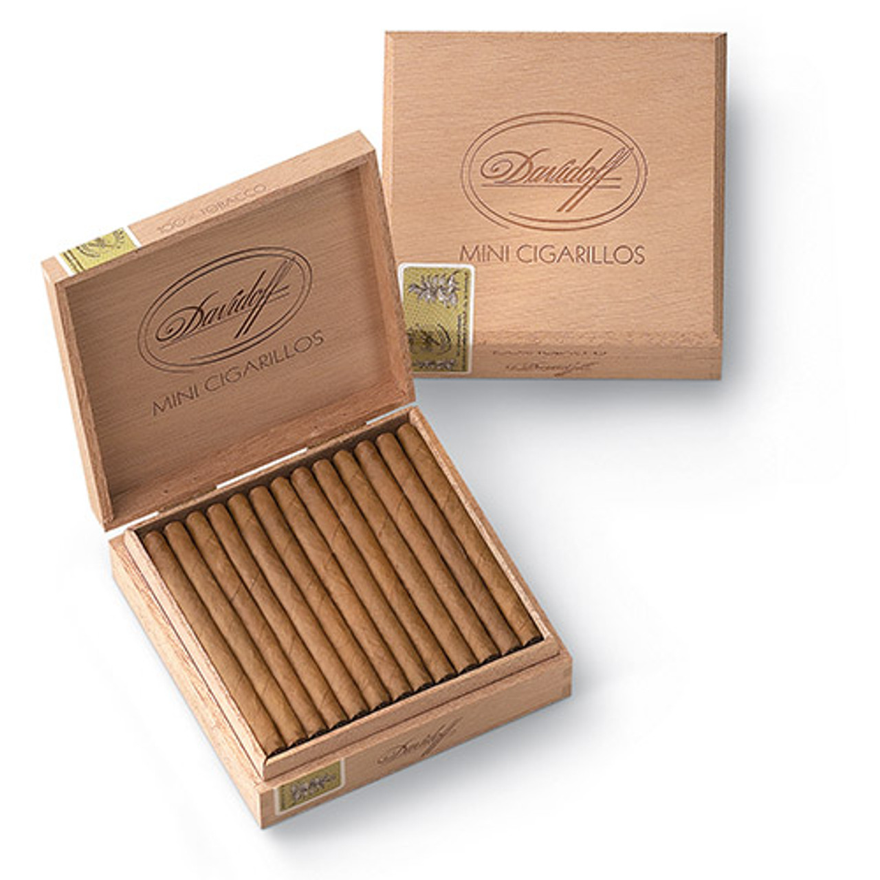 Davidoff Cigarillos and Small Cigars - Exquisitos Cigars - 3.62 x 22 (Box of 20)