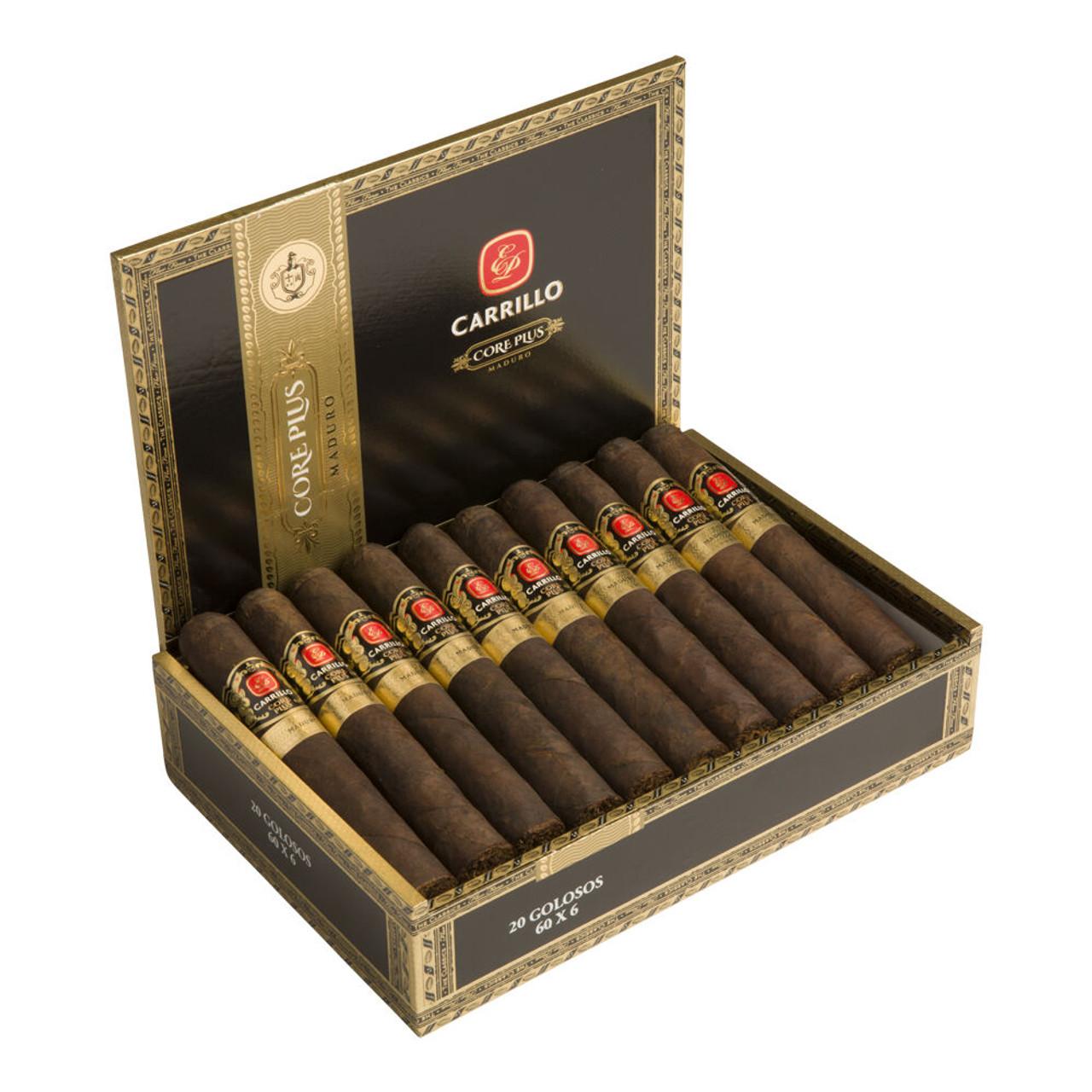 E.P. Carrillo Core Plus Encantos Maduro Cigars - 5 x 50 (Box of 20)