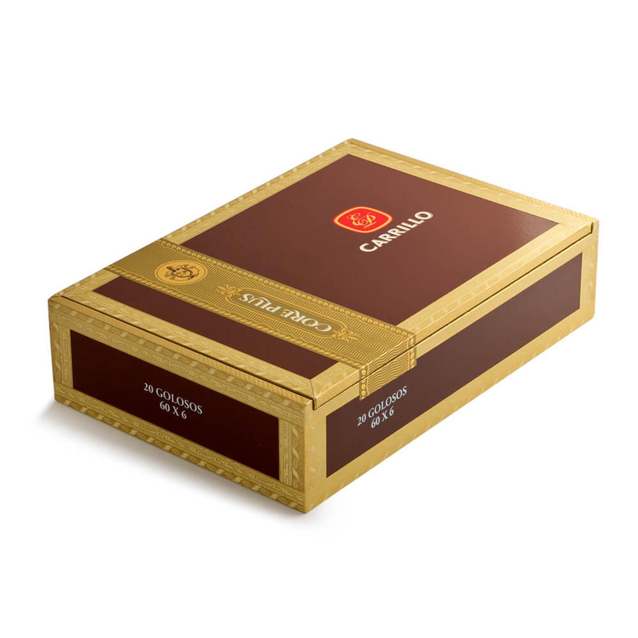 E.P. Carrillo Core Plus Golosos Maduro Cigars - 6 x 60 (Box of 20)