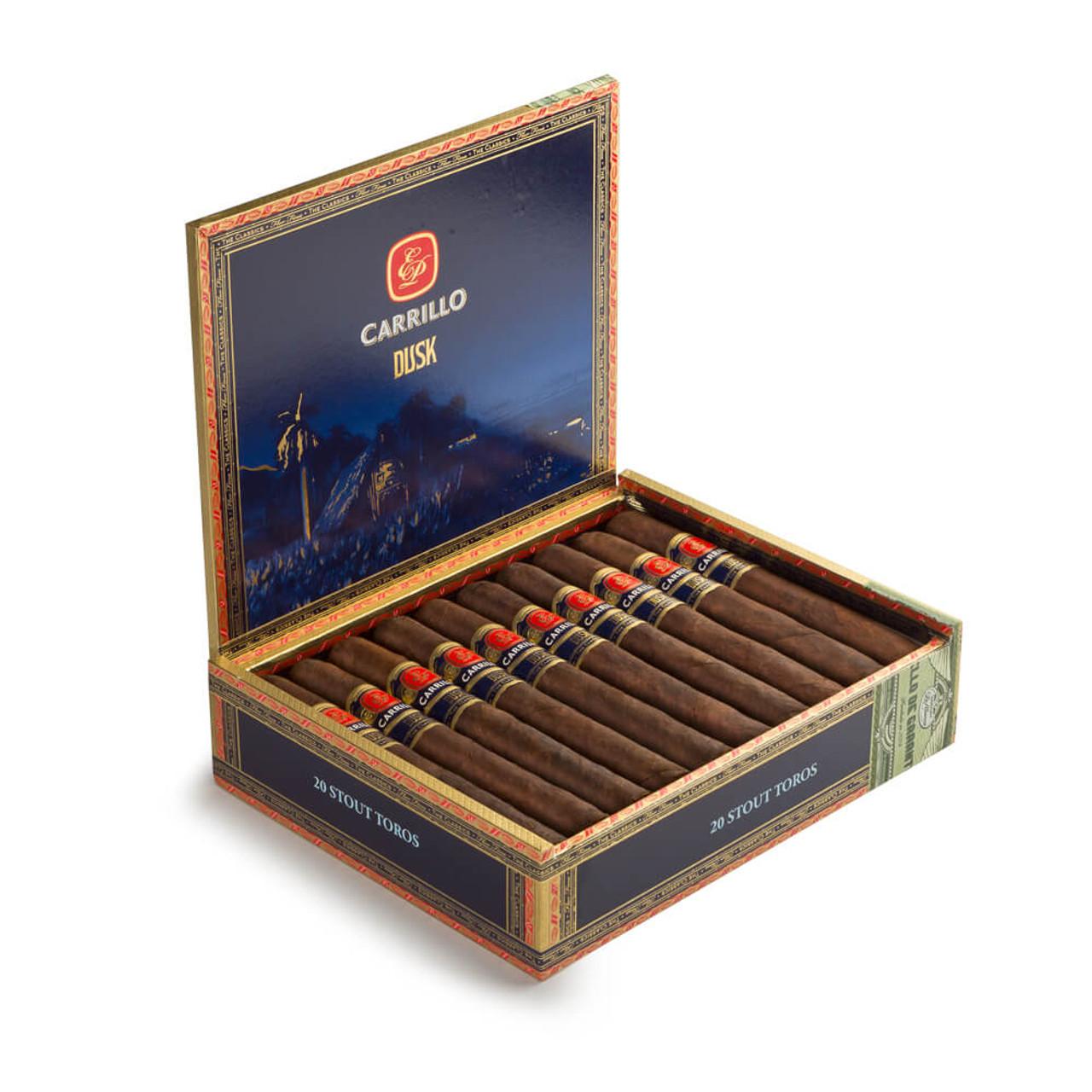 E.P. Carrillo Dusk Solidos Cigars - 6 x 60 (Box of 20)