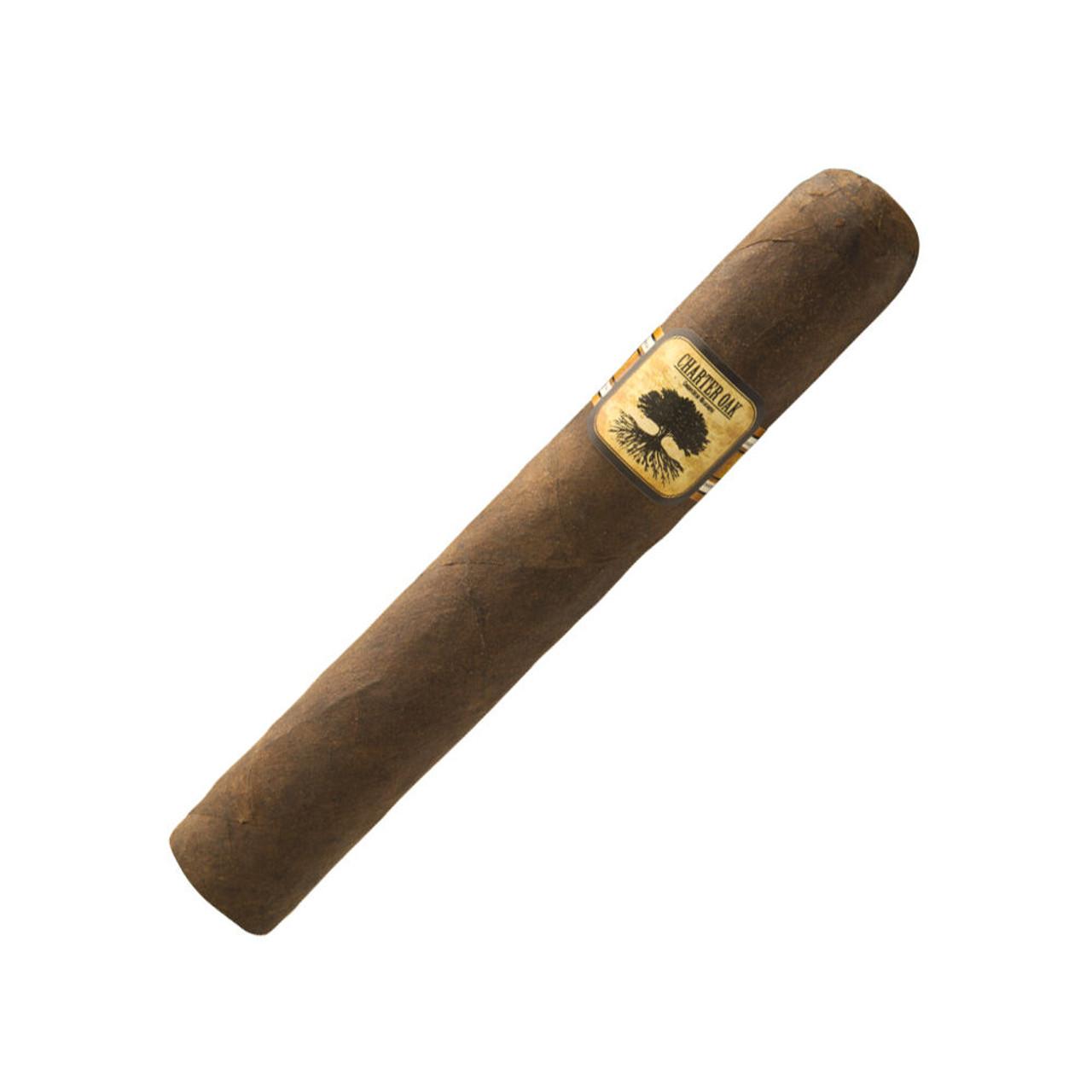 Foundation Charter Oak Grande Maduro Cigars - 6 x 60 (Box of 20)