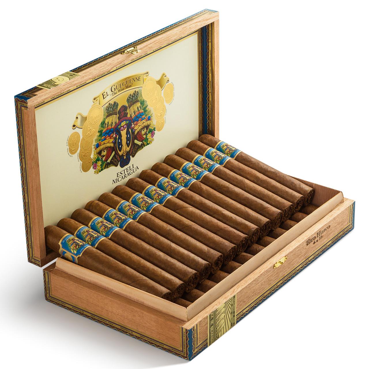 Foundation El Gueguense Toro Huaco Cigars - 6 x 56 (Box of 25)