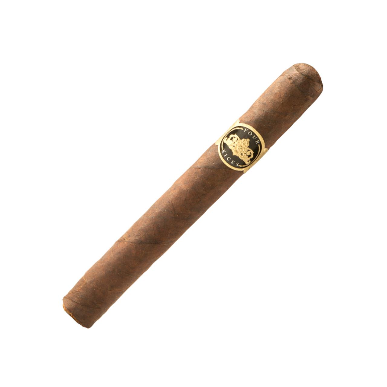 Four Kicks Maduro Corona Gorda Cigars - 5.58 x 46 (Box of 24)