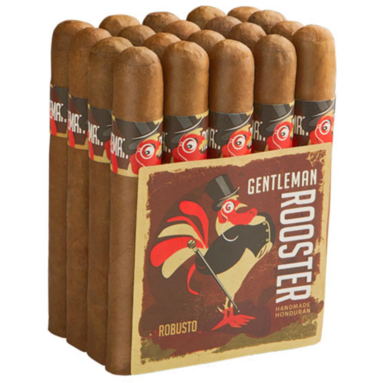 Gentleman Rooster Belicoso Cigars - 6 x 52 (Bundle of 20)